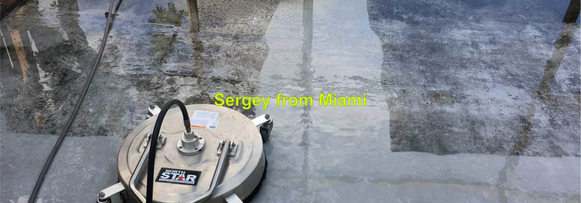 Pressure cleaning of patios, patio screens, sidewalks, and walkways in Cooper City, Florida 33330
