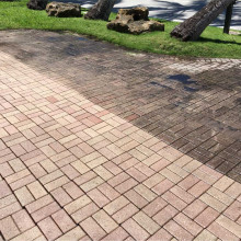 Pressure cleaning of the driveway Golden Beach, Florida